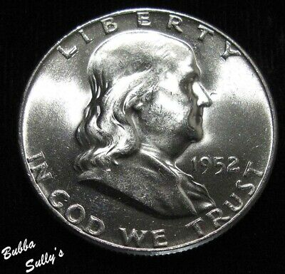 1952 Franklin Half Dollar <> UNCIRCULATED