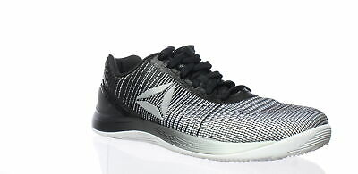 Reebok Mens Crossfit Nano 7 White Black Cross Training Shoes Size 8 (172579) 2c53e13a3
