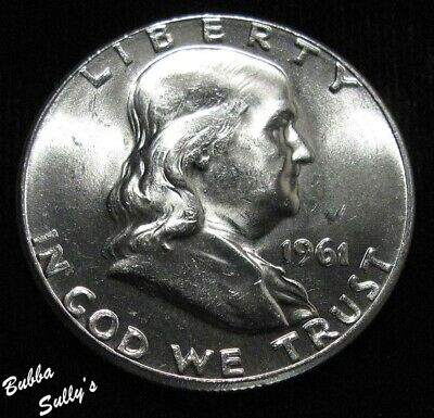 1961 Franklin Half Dollar <> UNCIRCULATED