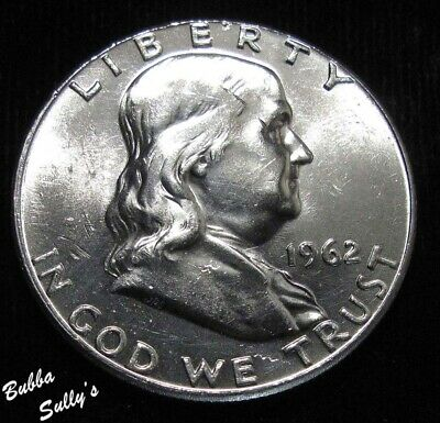 1962 Franklin Half Dollar <> UNCIRCULATED Details