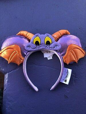 Disney World Epcot Festival Of The Arts 2019 Figment Mickey Minnie Ears Headband