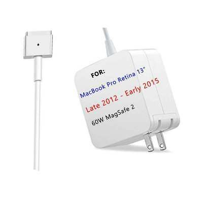 """60W Power Supply AC Adapter Charger For Apple MacBook Air Pro 13"""" 11"""" A1425/1436"""