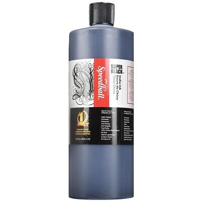 Speedball Super Black India Ink - Quart  - Quart