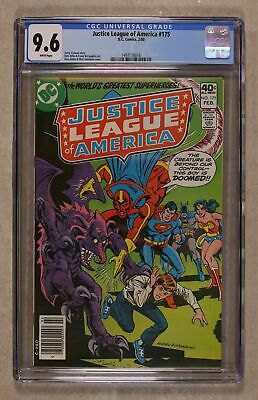Justice League of America (1st Series) #175 1980 CGC 9.6 1497178016