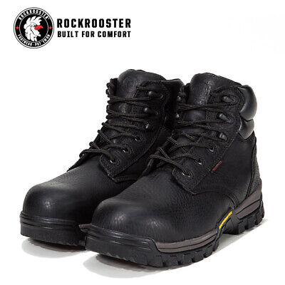 IRON AGE LEATHER & Rubber Compound Work Boots Waterproof