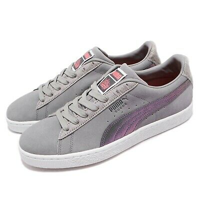 Puma Suede Classic X Staple Pigeon Grey White Men Casual Shoes Sneaker  366334-01 a6ae38423