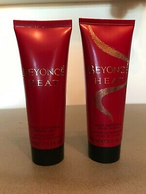 New And Unused Beyonce Heat Shower Gel & Sparkle Lotion