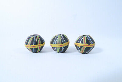 3 King beads Glasperlen Murano AK04 Antique King beads African trade Afrozip