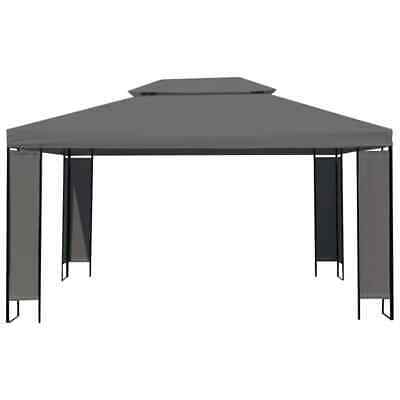 vidaXL Gazebo Anthracite 300x400cm Outdoor Shelter Party Tent Canopy Marquee