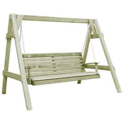vidaXL Garden Swing Chair FSC Impregnated Pinewood 215x171x180cm Outdoor Seat