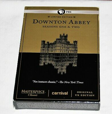 DOWNTON ABBEY - Seasons One & Two DVD set - Seasons 1,2