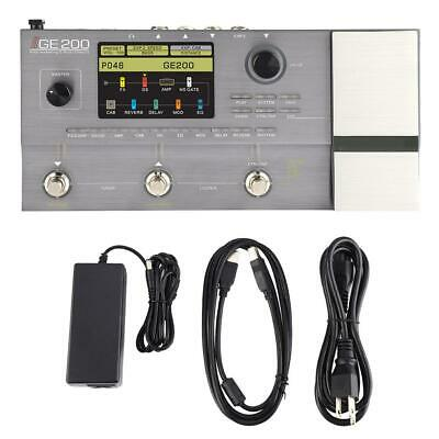 Electric Guitar Simulator Effect Pedal with 26 IR Speaker Cab & Control Button