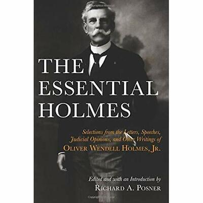 The Essential Holmes: Selections from the Letters, Spee - Paperback NEW Holmes,