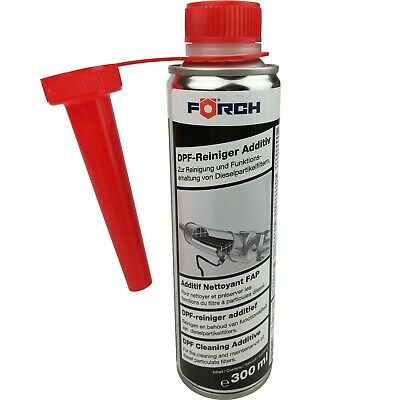 (56,50€/L) DPF Reiniger Additiv FÖRCH 300ml Dieselpartikelfilter Regeneration