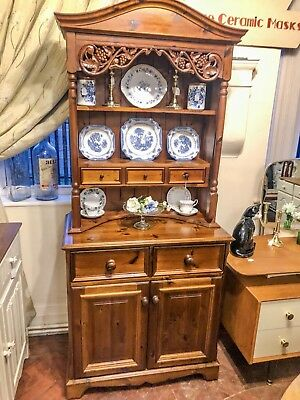 Vintage Victorian Style Pine Farmhouse Dresser - Delivery Available - SC230