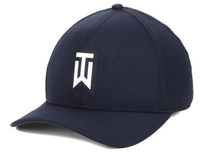 9e5568cfd0c Nike Tiger Woods tw Aerobill Classic99 Hat cap (Obsidian) - Choose Size