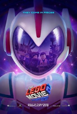 Lego Movie 2 - original DS movie poster - 27x40 D/S 2019 Advance
