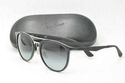 3fa7678d45afe RAY BAN RB 4285 Sunglasses 601 8G Black Frames   Gray Gradient 55mm ...
