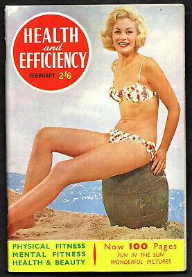 HEALTH and EFFICIENCY:Issue No.730,February 1962-Excellent Condition!