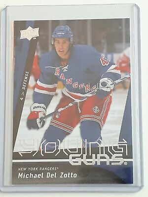 206 Michael Del Zotto - Young Guns - UD 2009-10 Series 1 One - Upper Deck