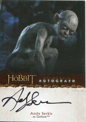 The Hobbit An Unexpected Journey Autograph A18 Andy Serkis