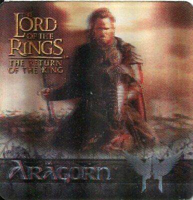 Lord Of The Rings ROTK Action Flipz Lenticular Tin Exclusive Card CiT2
