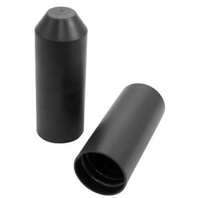 Heat shrink end cap 25,0 -> 8,5mm ; Length: 68mm ; Shrink endcap Black