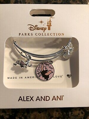 Disney Parks Dumbo Don't Just Fly Soar Alex and Ani Bracelet Set Silver NEW