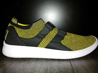 0be22379abe2  130 Nike Air Sockracer Flyknit Sz Size 9 Yellow 898022 700 Men s Running  Shoes