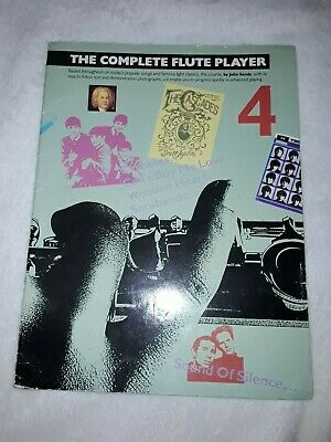Sheet Music Book The Complete Flute Player Book Four- John Sands Good Condition.