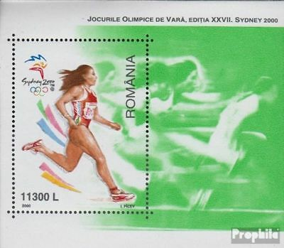 Romania Block314 (complete.issue.) unmounted mint / never hinged 2000 Olympics S