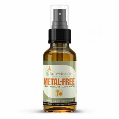 BodyHealth Metal-Free Natural Chelation Agent Toxins Heavy Metal Detoxification