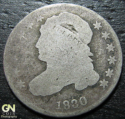 1830 Capped Bust Dime  --  MAKE US AN OFFER!  #W3677 ZXCV