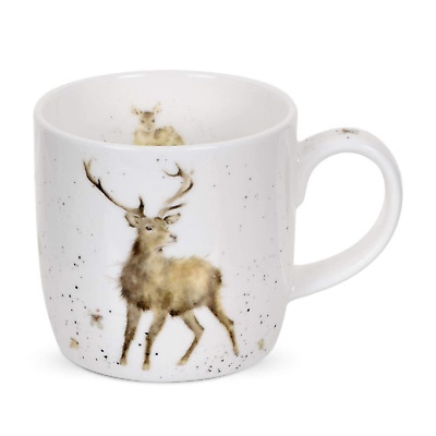 Wrendale by Royal Worcester Wild at Heart (Stag) Single Mug