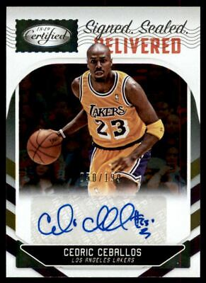 940445d94a1 2018-19 Certified Signed Sealed Delivered Autograph  6 Cedric Ceballos Auto   199