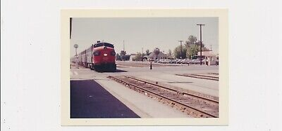 1960 Captioned Vintage Color Photo Train Trip from Bakersfield California