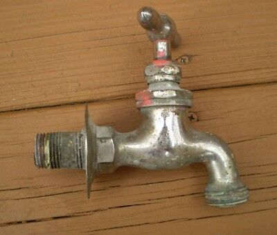 "Vintage  F F Rotler & Co Boston Mass1/2"" brass faucet"