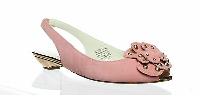61e6bb5521a ANNE KLEIN WOMENS Farrah Medium Pink Peep Toe Heels Size 8 (61135 ...