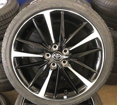 19 Toyota Camry Xse 2018 Oe Wheels Tires Set Of 4 19x8
