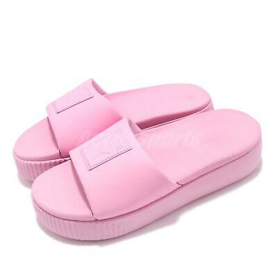 6a065a06bd66 Puma Platform Slide Wns Pale Pink Women Sports Sandals Slippers 366121-09