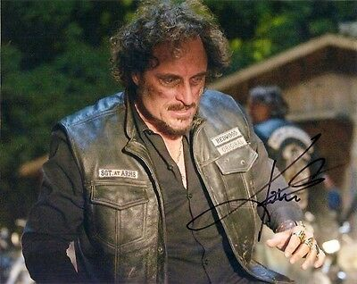 Sons of Anarchy Kim Coates Autographed Signed 8x10 Photo COA PROOF