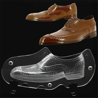 3D Men's Leather Shoes Shape Plastic Jelly Candy Chocolate Mold Cake Decor LG