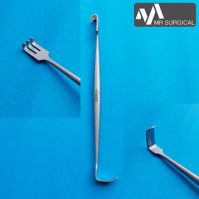 Senn Miller Tissue Retractor Double Ended Thyroidectomy Plastic Surgery Surgical