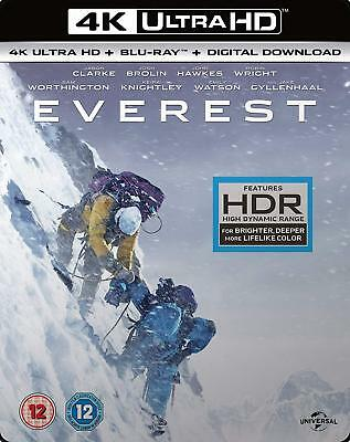 Everest 4k UHD + Blu-ray + Digital brand new shrink wrapped
