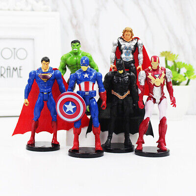 Super Hero Avengers man-Ant Spider-man Superman Batman Action Figure Doll Toys