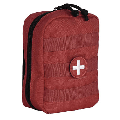 Voodoo Tactical EMT Pouch, Red - 15-958416000 Medical Pouch: 15-9584016000