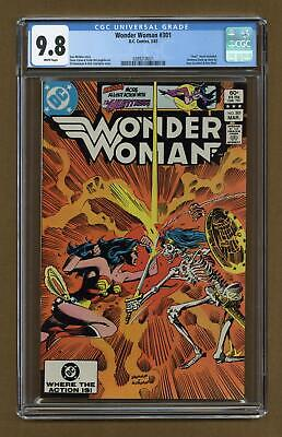 Wonder Woman (1st Series DC) #301 1983 CGC 9.8 0289218021