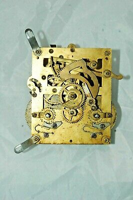 Antique/vintage Fontenoy French Clock Movement.