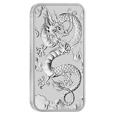 Dragon Argent 1 Once 2019 Australie Dragon Rectangle