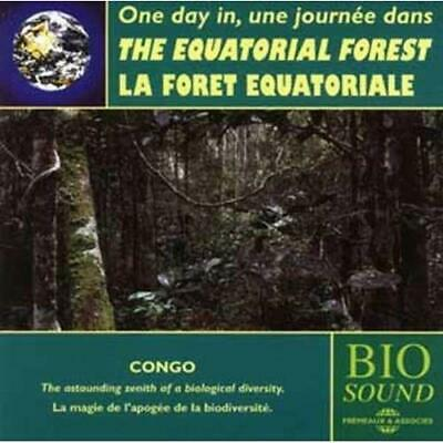 One day in the Equatorial Rainforest (Congo) Sounds Of Nature Audio CD